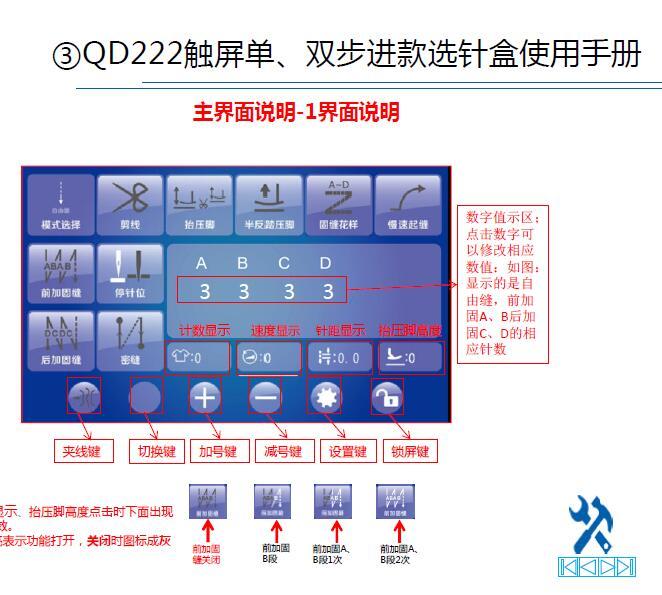 琦星QD222电控使用说明书,多轴双步进伺服控制系统